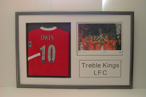 Framed Football Shirt