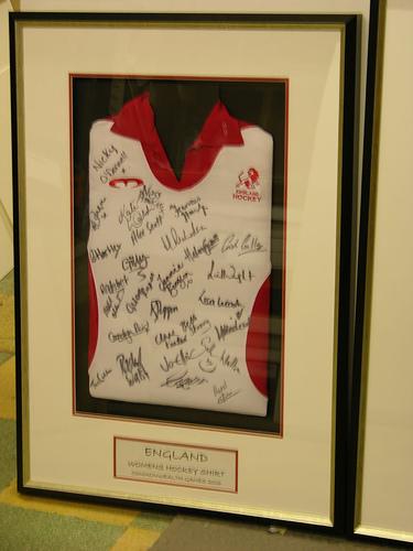Framed England Rugby Shirt