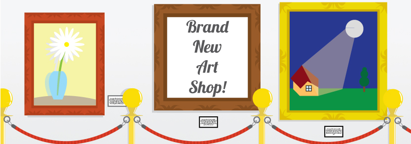New Art Shop!