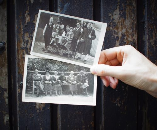 Conserving old photographs